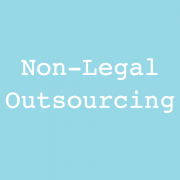 Non-Legal Outsourcing