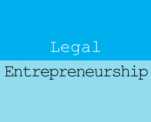 Legal Entrepreneurship