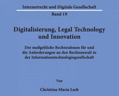 Christina-Maria Leeb Digitalisierung